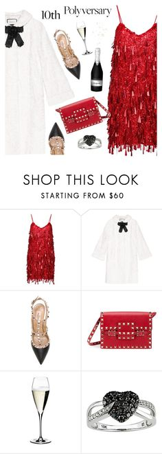 """""""10th Polyversary!"""" by mada-malureanu ❤ liked on Polyvore featuring Ashish, Gucci, Valentino, Riedel, Ice, polyversary, contestentry and polyvoreeditorial"""