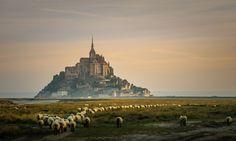 Mont Saint-Michel, Franciaország