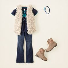 girl - outfits - ready to rock - fur fun | Children's Clothing | Kids Clothes | The Children's Place