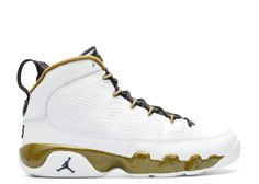 huge selection of 85d57 02412 2018 Cheap AIR JORDAN 9 RETRO BG GS STATUE white black-militia green 302359  109 Hot Sale