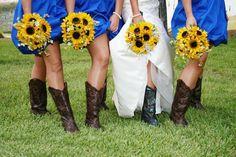 Sunflower Country Wedding | sunflowers are my favorite!!! For country wedding:) | Ashley's wedding