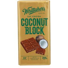 whittaker's chocolate coconut - Google Search