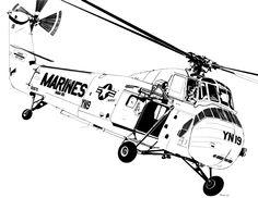 Marine H-34 Seahorse