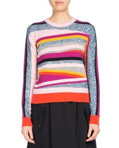 Kenzo Short Jog-Style Flare Skirt, Black and Matching Items