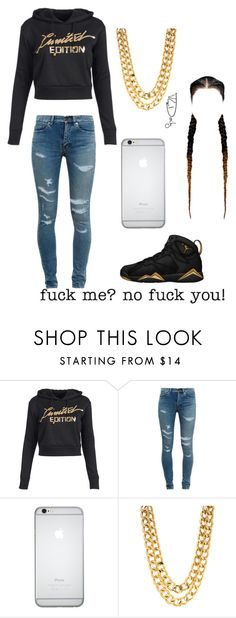 """""""Untitled #31"""" by trill-love-ish ❤ liked on Polyvore featuring Yves Saint Laurent"""