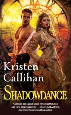 Review: Shadowdance by Kristen Callihan - Delighted Reader, # 4 Darkest London, Paranormal Steampunk Romance