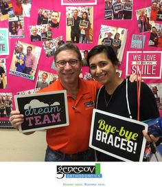 Let's hear it for Jourdan 👏🎉🎊 #Congratulations on getting your #braces off! You have a great #genecovgrin 😁 #weloveourpatients #weloveourorthodontist #deband #bracesoff #orthodontics #ortho #smile #loveyoursmile