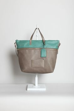 Jil Sander colour blocking weekender. Colours are very soothing looking, looks beautifully made and super soft!