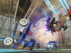 Rocket League now available on Xbox!