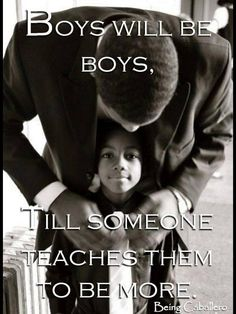 And I will continue. I want my boys to be the best man they can be. But it is hard when they have Mike and my brother as role models. The man I choice will b amazing and teach them.