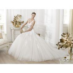 Pronovias Lauris|Pronovias Wedding dress Lauris|tampabridalshops.com