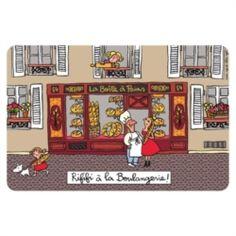 """Set de table """"Rififi à la Boulangerie !"""""""