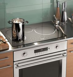 An induction cooktop over a wall oven? It can happen