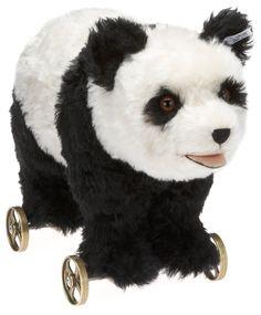 Mohair Panda On Wheels 1938: Toys & Games
