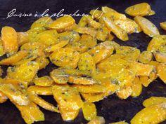 Plancha de carottes au gingembre et cumin.