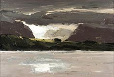 thorsteinulf:    Kyffin Williams - Across the Water (1990-2006)