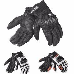 Motocross de guantes de cuero de hombres que monta dedo lleno windproof para duhan t1