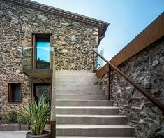 Villa CP by ZEST Architecture -- love hte mix of old stone/feel and new modern elements