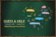 Come and join the special #OdysseyMembersWeek on Facebook!! 【https://goo.gl/bBYWiL】 Just #GUESS the theme of Odyssey's #CSR project in 2016 and you're gonna #HELP the needy! Food · Health · Education & Life · Community Development · Economic Development · Environment 1 Comment = USD1 donation from #MyOdysseyToursCares! Choose your answer and make a difference!