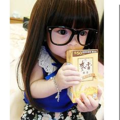 Omg! These glasses on this sweet baby are too cute!