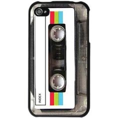 Old School Music Mixtape iPhone 4 Case