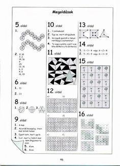 Albumarchívum Bullet Journal, Album, Numbers, Puzzle, Puzzles, Riddles, Numeracy, Card Book, Quizes