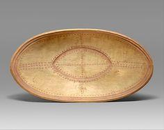 Yup'ik - Oval Dish (19th Century)