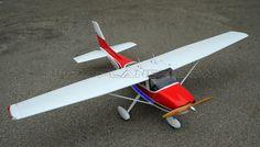 Projet Cessna-182 Sky Trainer 140 Nitro 120~140 Engine Powered RC Scale Plane Kit Version 2