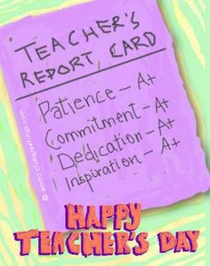 #HappyTeachersDay to all teachers worldwide! Greetings from ATA TESOL College    #patience #commitment #dedication #inspiration #A+ #teacher