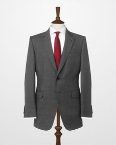 Charcoal Mayfair Birdseye Suit