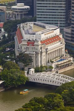 Greetings Card-Fullerton Hotel, Singapore River, Singapore-Photo Greetings Card made in the USA Singapore Travel, Singapore Singapore, Fullerton Hotel, Famous Buildings, Thing 1, Travel Images, Capital City, Asia Travel, Southeast Asia