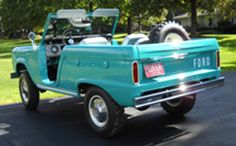 1966 Ford Bronco | Caribbean Turquoise | Back View