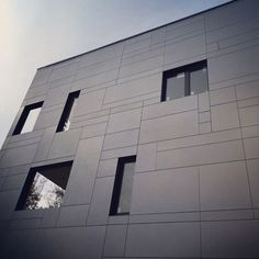 CladTech are suppliers and installers of metal cladding and ventilated facades servicing Nova Scotia, New Brunswick, PEI and Newfoundland. Wooden Wall Cladding, Exterior Wall Cladding, Cladding Panels, House Cladding, Metal Cladding, House Siding, Facade House, Cladding Design, Facade Design