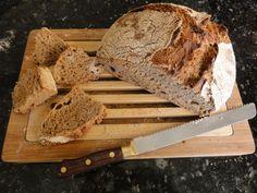 No knead whole wheat bread recipe