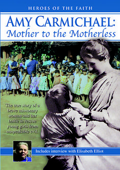 Checkout the movie Amy Carmichael: Mother to the Motherless on Christian Film Database: http://www.christianfilmdatabase.com/review/amy-carmichael-mother-to-the-motherless/