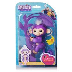Fingerlings Interactive Baby Monkey Toy Mia by WowWee ORIGINAL RARE #WowWee