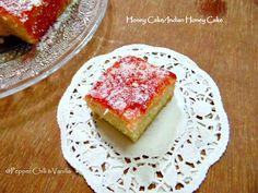 Honey Cake/ Indian Bakery Style Honey Cake Recipe. | Pepper, Chilli and Vanilla