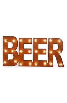 Universal Ironworks 'Marquee Lights - Beer' Recycled Metal Sign | Nordstrom, where would you hang this? http://keep.com/universal-ironworks-marquee-lights-beer-recycled-metal-sign-no-by-megan_blanchard/k/1rn5MLABGo/