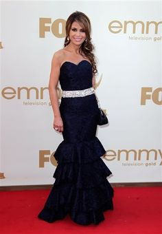 Paula Abdul 2011 Emmys #celebrities #celebrityfashion #redcarpet