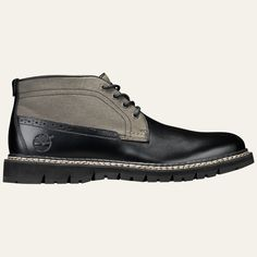 Men's Britton Hill Mixed-Media Chukka Boots