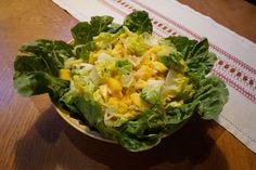 Knackiger Thai-Salat #vegan #veganfood #mango #romana #salat #vetaretus1 #daserstemal wwww.vetaretus-1.de