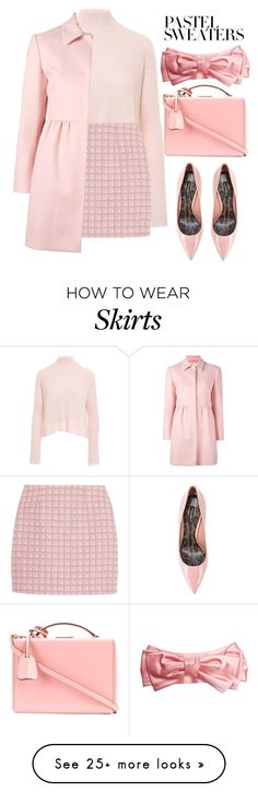 """""""Pastels"""" by rastaress-motso on Polyvore featuring Minnie Rose, Alexander Lewis, RED Valentino, Mark Cross, Dolce&Gabbana, Gucci and pastelsweaters"""