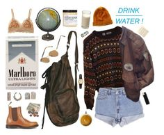 """breezy autumn morning"" by greenbeanteen ❤ liked on Polyvore featuring Persol, Dr. Martens, INDIE HAIR, VidaKush, Levi's, Madewell, Fig+Yarrow and Sekonda"