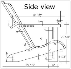 Image result for plan and elevation for foldable chair.pdf