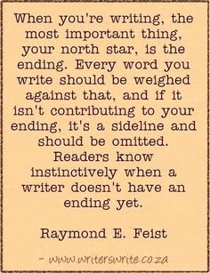 Find out more about the author here and read our Interview with Raymond E. Feist ~~~ Writers Write offers the best writing courses in South Africa. Writers Write - Write to communicate. Book Writing Tips, Writing Words, Writing Process, Fiction Writing, Writing Resources, Writing Help, Writing Skills, Writer Tips, Writing Courses