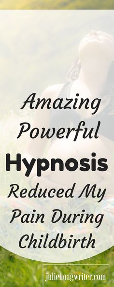 It was my first birthing experience and I never expected to use hypnosis. Using Hypnosis wasn't in my birth plan because I really didn't think it would work. In fact, my midwife never even mentioned it in our appointments during my pregnancy so it wasn't