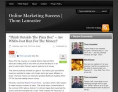 This is my Internet Marketing blog at http://ThomLancaster.com.