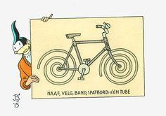 Batabicycle by Joost Swarte