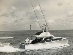"""The boat that started it all!  Rybovich Hull #1, """"Miss Chevy II"""" built for Rybovich-collector Charlie Johnson (he commissioned 4 Rybo's over the years)"""