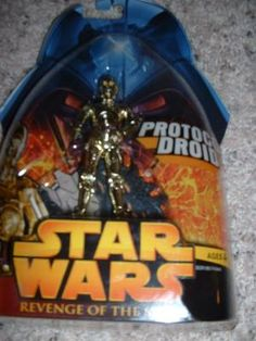 Star wars return of the sith C3PO moc